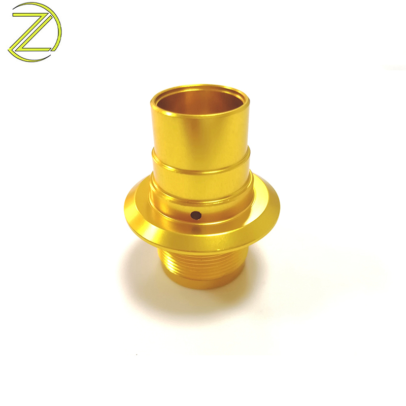 Custom Golden Yellow Anodized Lights Accessories